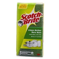 Esponja Scotch Brite com 3