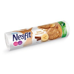 Biscoito Nestle Nesfit 200g Banana Aveia e Canela