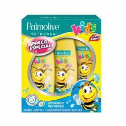 Kit Palmolive Kids 2 Shampoos + 1 Condicionador 350ml Todos Tipos de Cabelo