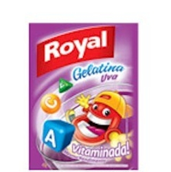 Gelatina Royal 25g Uva