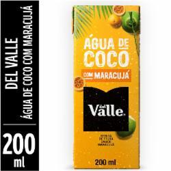 Agua de Coco Del Valle 200ml Maracuja