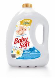 Amaciante Baby Soft 5L Toque de Cuidado