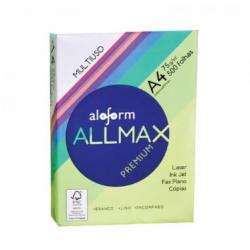 Papel Sulfite Allmax Bco 500 Fls