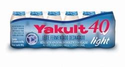 Leite Ferm Yakult 40 Light 480g com 6