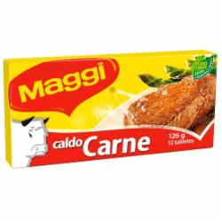 Caldo Maggi 126g Carne