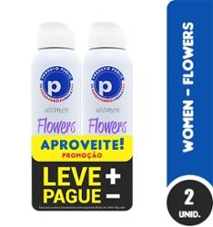 Kit Des Aero Public 150ml Women Flowers com 2 Lv+Pg-