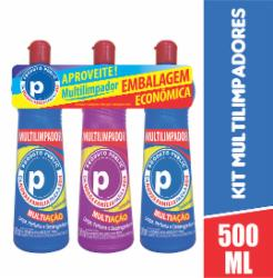 Kit 3 Multilimpadores Public 500ml Leve Mais Pague Menos
