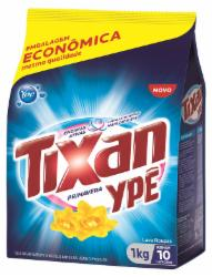 Lava Roupas Pó Tixan 1Kg Primavera Sachet