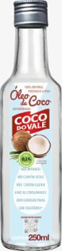 OLEO DE COCO EXTRA VIRGEM COCO DO VALE 250ML
