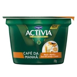 Leite Ferm Activia Cafe 170g Mam/Mac/Suco