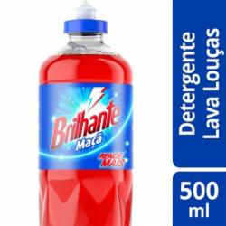 Detergente Líquido Brilhante 500ml Maçã