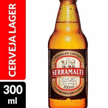 Cerveja Serramalte 300ml Garrafa