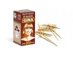 Palito Dente Gina Luxo com 200