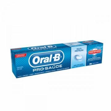 Creme Dental Oral B 70g Pro Saúde Escudo Anti-Açúcar
