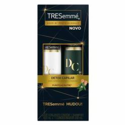 Kit Tresemme Shampoo 400ml + Condicionador 200ml Detox Capilar