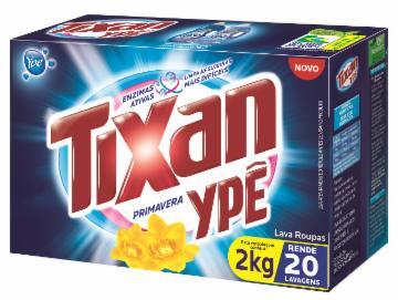 Lava Roupas Pó Tixan 2Kg Primavera