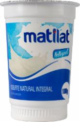 Iogurte Natural Matilat 180g Integral