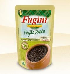 Feijão Preto Em Conserva Fugini 250g Sachet