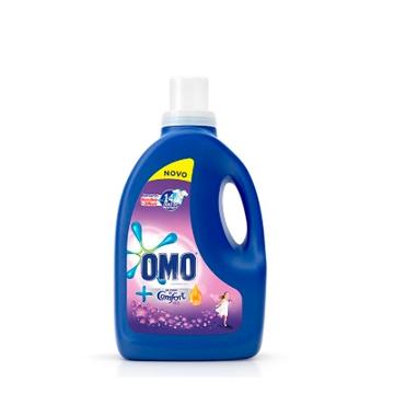 Lava Roupa Liquido Omo 3l Roxo