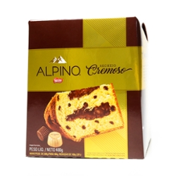 Panettone Nestle Alpino 400g Chocolate