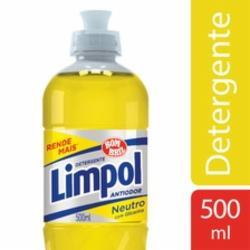 Detergente Líquido Limpol 500ml Neutro