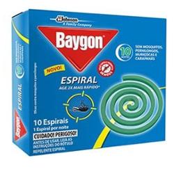 Inseticida Espiral Baygon com 10