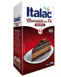 Chocolate Po Italac 200g