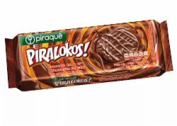 BISC PIRAQUE PIRALOKOS 120G CHOCOLATE