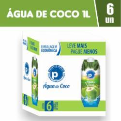 Água de Coco Public 1L - Caixa com 6 unidades