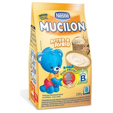 MUCILON ARROZ/AVEIA 230G SACHET
