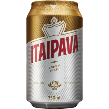 Cerveja Itaipava 350ml Lata