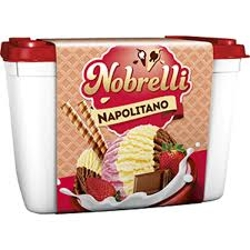 Sorvete Nobrelli 2L Napolitano