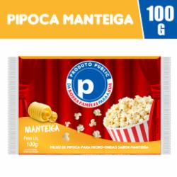 Pipoca Microondas Public 100g Manteiga