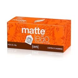 Cha Matte Leao Canela 40g com  25 Saquinhos