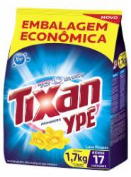 Lava Roupas Pó Tixan 1,7Kg Primavera Sachet