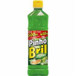 Desinfetante Pinho Bril Leve 500ml Pague 450ml Limão