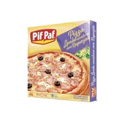 PIZZA PIF PAF 460G LOMBO/REQUEIJAO
