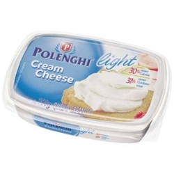 CREAM CHEESE POLENGHI 150G LIGHT