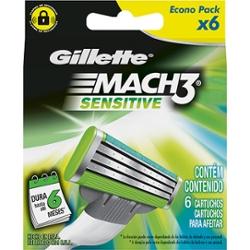 Carga Gillette Mach3 Lv6 Pg5 Sensitive