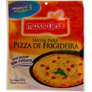 Massa Pizza de Frigideira Integral 250gr