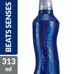 Bebida Skol Beats 313ml Senses Long Neck