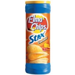 Batata Elma Chips Stax 156g Cheddar