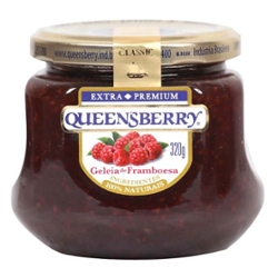 Doce Geleia Queensberry 320g Framboesa