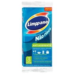 Esponja Limppano com 3 Antiaderente