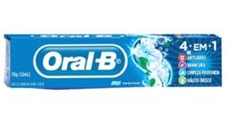 Creme dental Oral B 70g 4 em 1