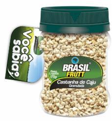 CASTANHA CAJU GRANULADO BRASIL FRUTT 170G