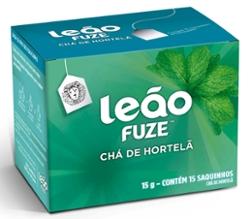Cha Leao Hortela 15g com  15 Saq Envelopados