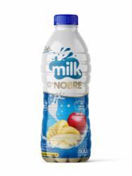Beb Lactea Liq Milk Nobre 800g Ban/Maca
