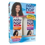 Kit Shampoo + Condicionador Sos Natu Hair 300ml Nutritivo