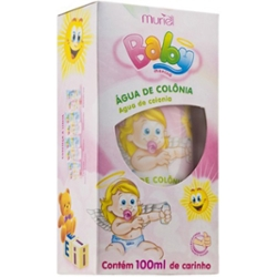 Colonia Muriel Baby 100ml Rosa